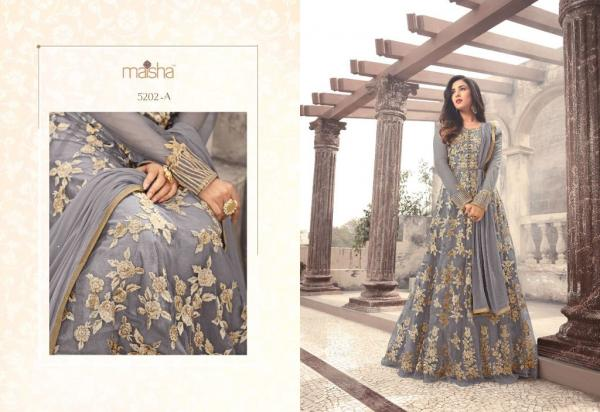 Maisha Maskeen Hit Design 5202&5203 Colors