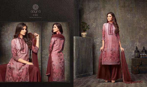 Mohini Fashions Aayra Vol 6 601 608 Series