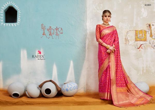 Rajtex Khambhati Silk 43001 43010 Series