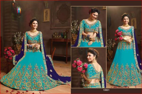 Riddhoo Wedding Season Designer Lehenga 10601 10608 Series