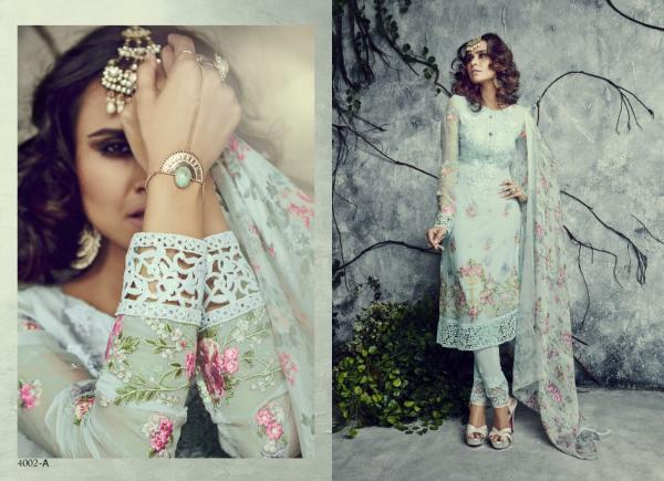 Sajawat Creation SF Mumtaz Gold Summer Collection 4002A 4002L Series