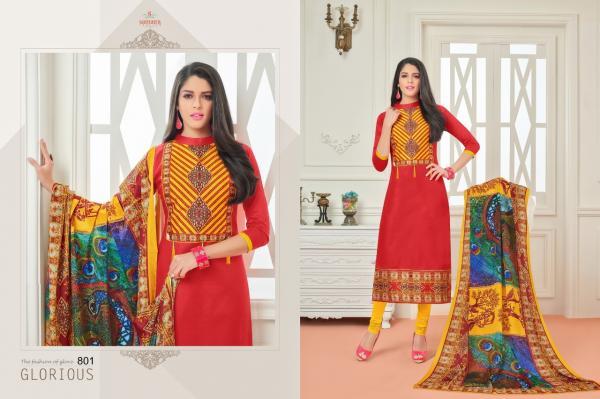 Samaira Fashion Sararara Vol 2 801 812 Series