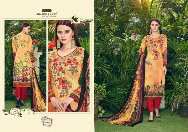 Shahnaz Arts The Pure Lawn Vol 1 10023 10030 Series