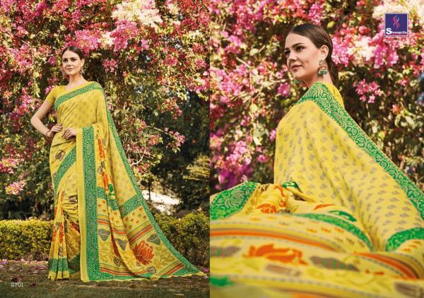 Shangrila Saree Madras 2701 2712 Series