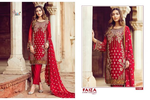 Shree Fabs Luxury Collection Vol 7 1151 1157 Series