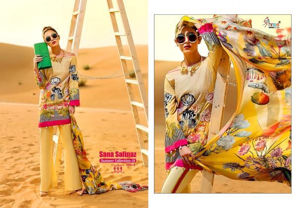 Shree Fabs Sana Safinaz Summer Collection Vol 2 111 118 Series