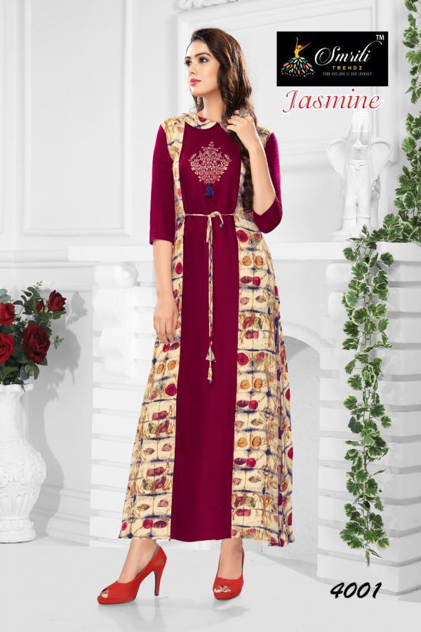 Smriti Trendz Jasmine 4001 4006 Series