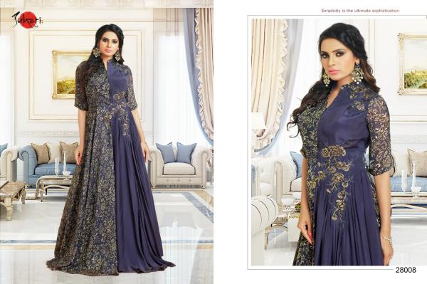 Suhati Fab Myra Vol 4 Gown Collection 28008 28017 Series