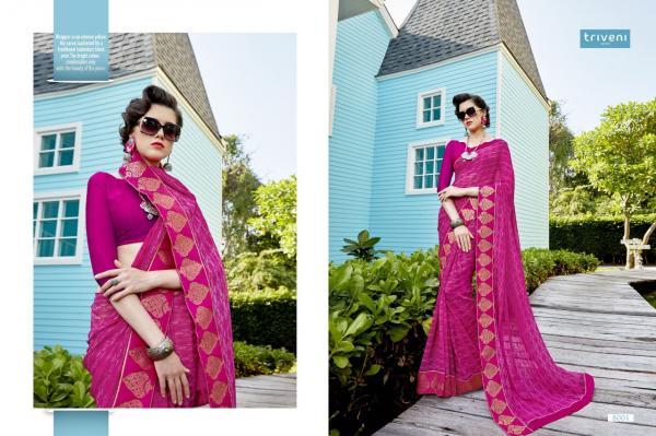 Triveni Sarees Alina 8001 8012 Series