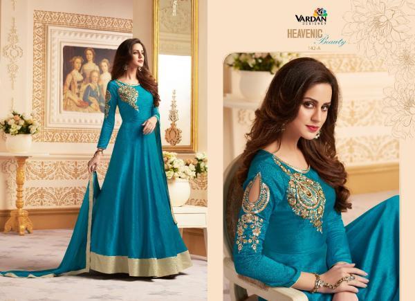 Vardan Designer Navya Vol 5 Gold 142 A 142 E Series