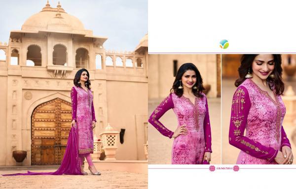 Vinay Fashion LLP Kassesh Victoria Vol 2 7351 7359 Series