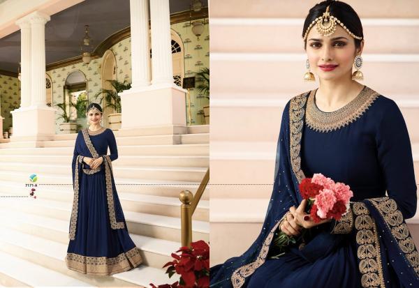 Vinay Fashion LLP Kaseesh Rajmahal Rang Plus 7171 7174ABCD Series
