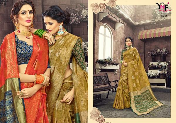 Yadu Nandan Fashion Kamalkupa Silk KK01 KK12 Series