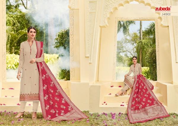 Zubeda Habiba Banarasi Dupatta 14901 14905 Series