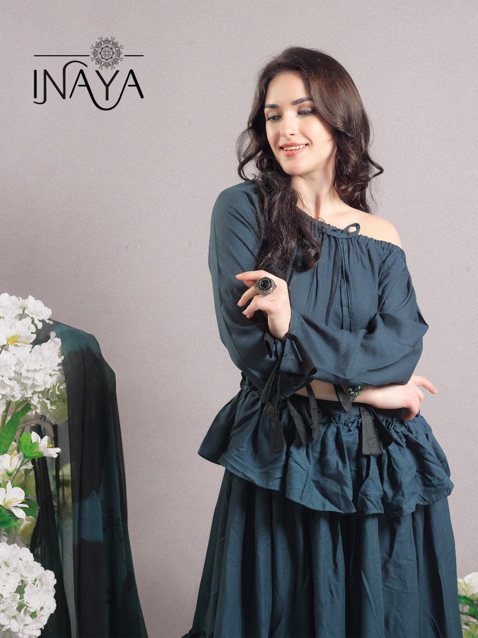 Inaya By Studio Libas K22 English Grey