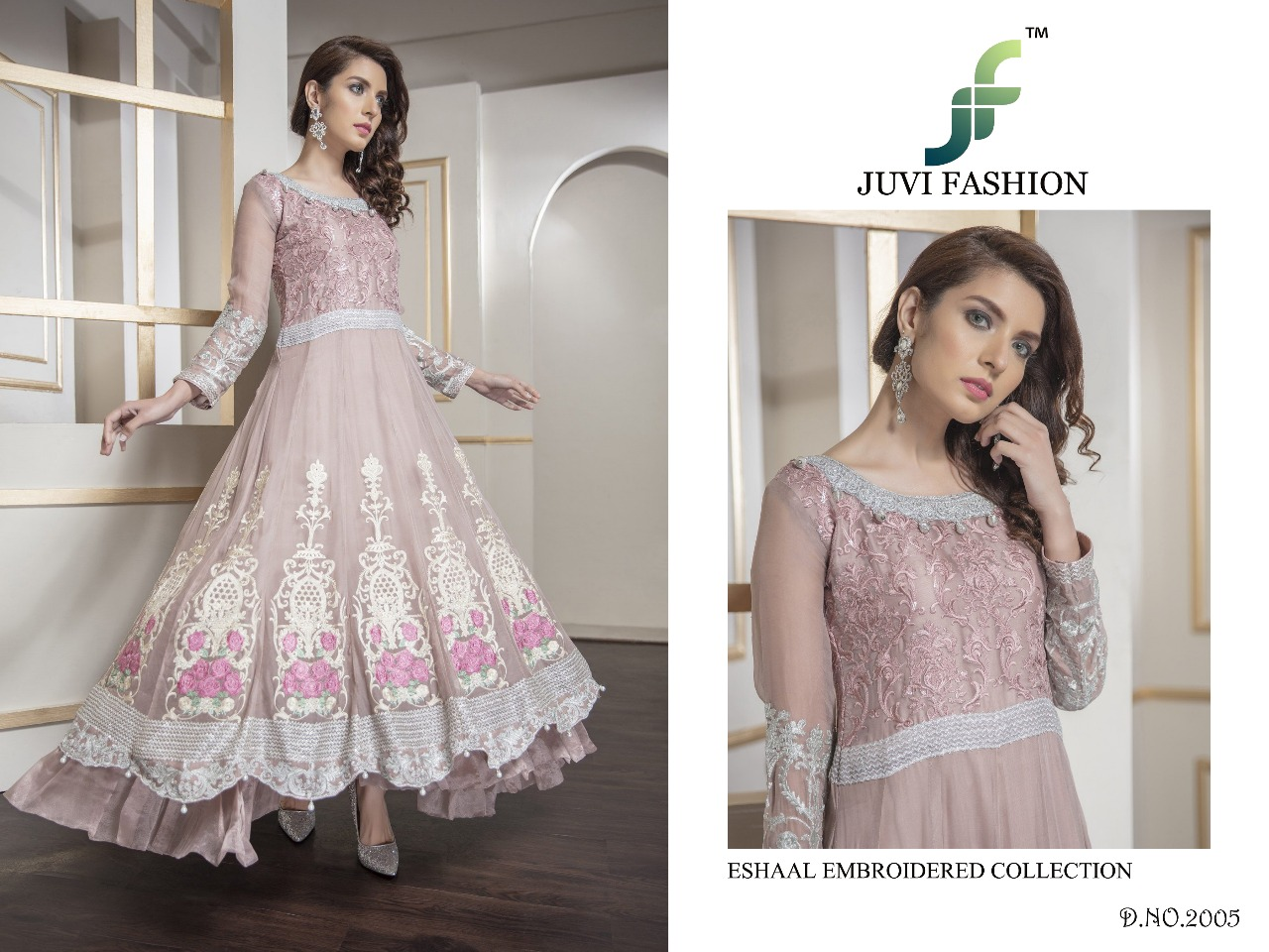 Juvi Fashion Eshaal Embroidered Collection 2005