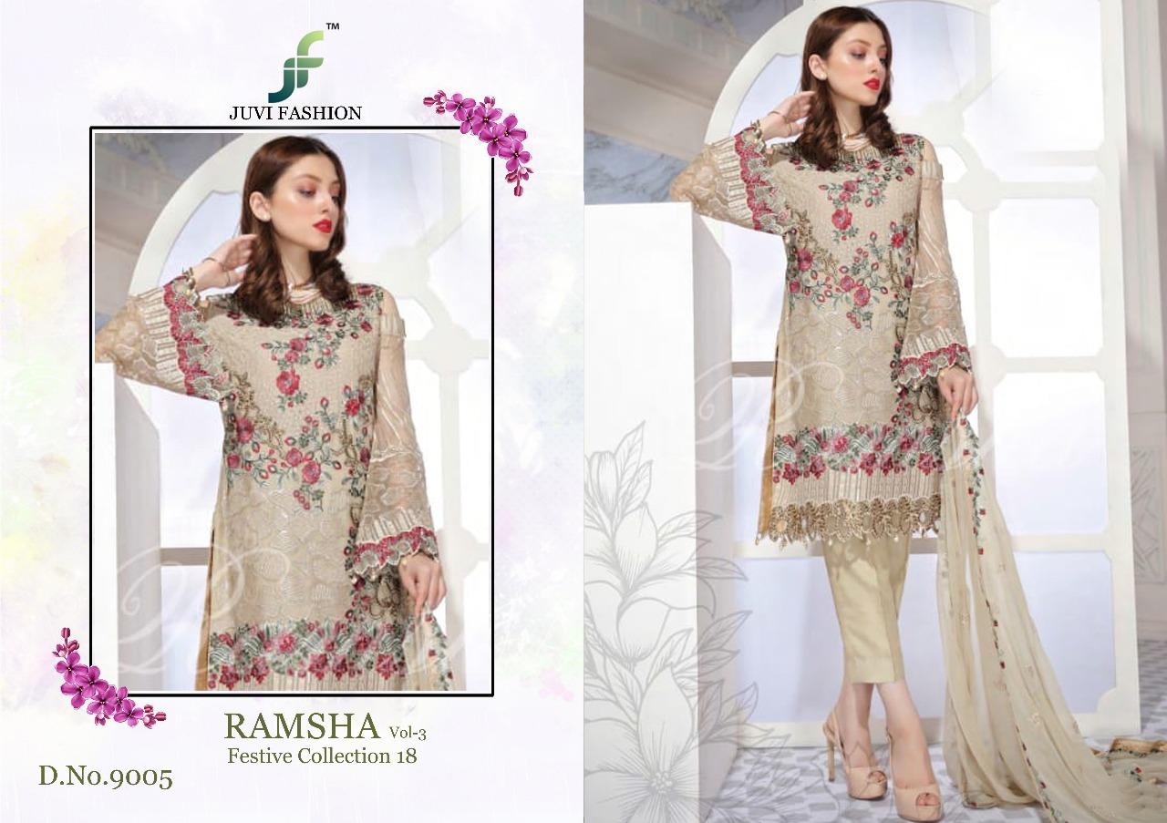 Juvi Fashion Ramsha Festival Collection 18 9005