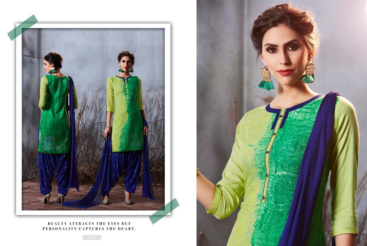 Kajree Fashion Royal Patiala  454