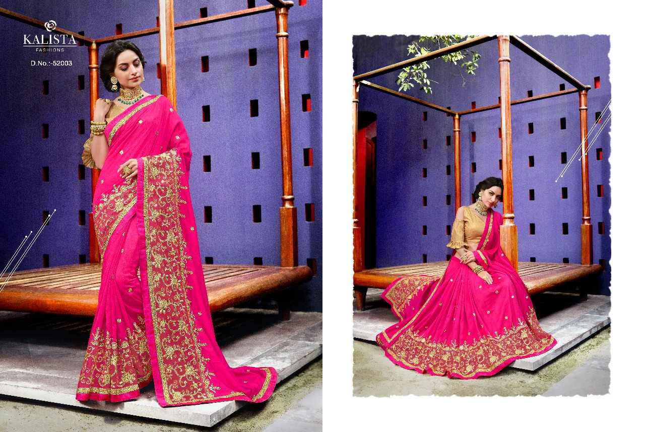Kalista Fashions Rivaaj Sarees 52003