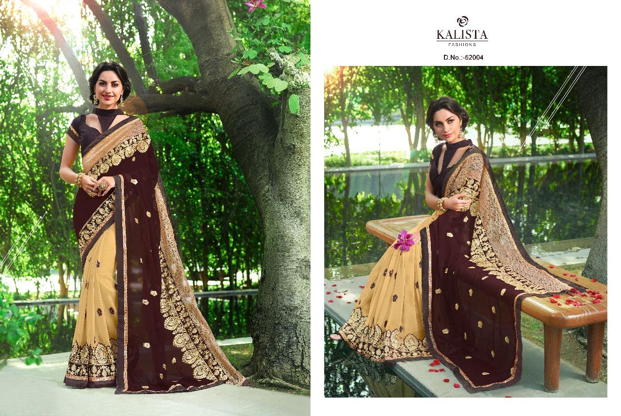 Kalista Fashions Rivaaj Sarees 52004