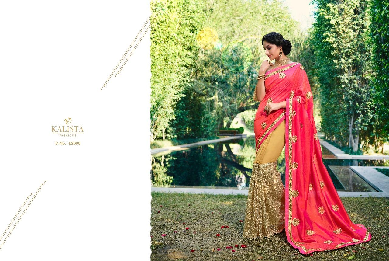 Kalista Fashions Rivaaj Sarees 52006