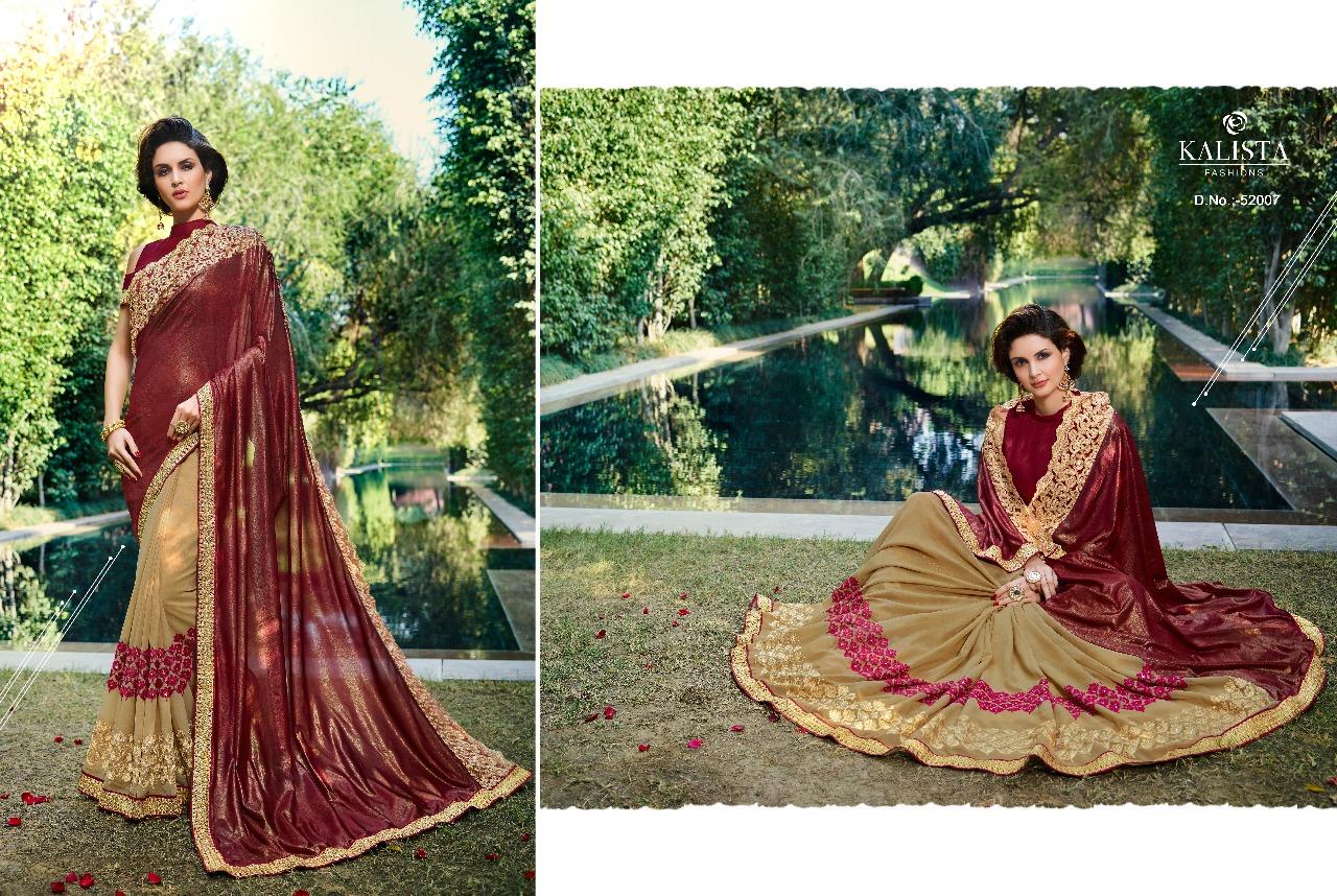 Kalista Fashions Rivaaj Sarees 52007