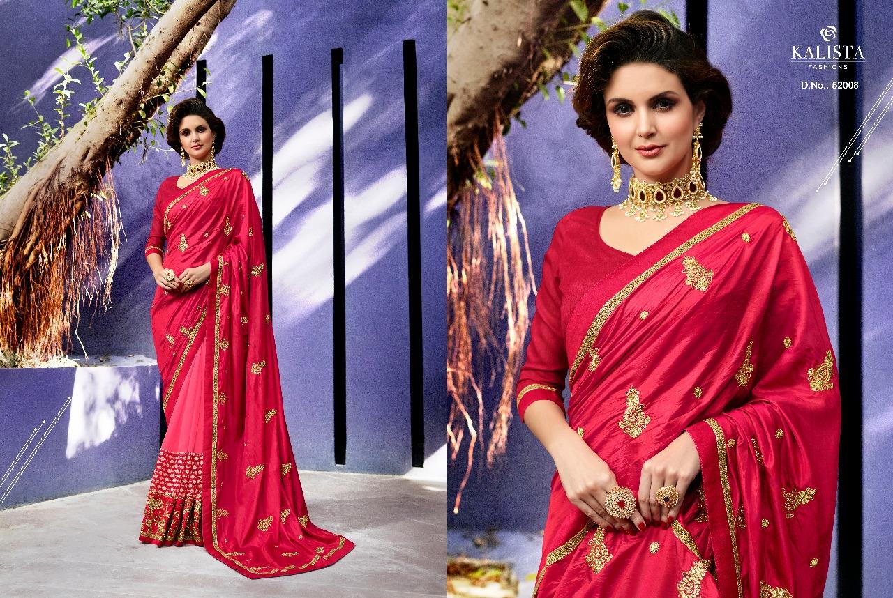 Kalista Fashions Rivaaj Sarees 52008