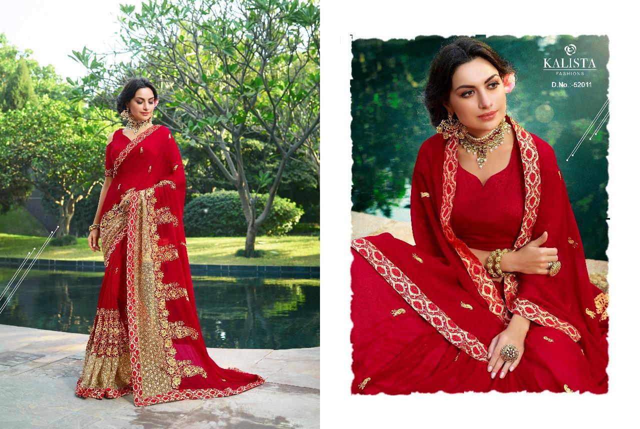 Kalista Fashions Rivaaj Sarees 52011