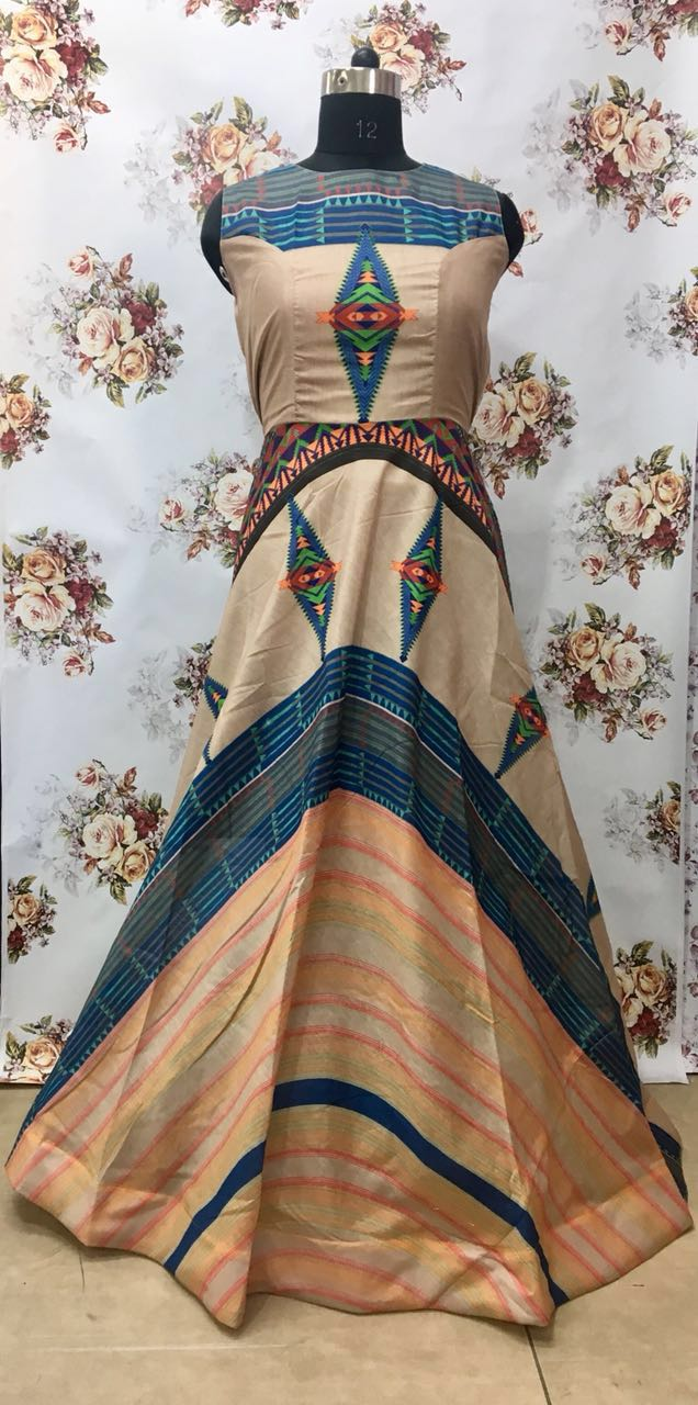 KT Designer Party Wear Gown KT 1011