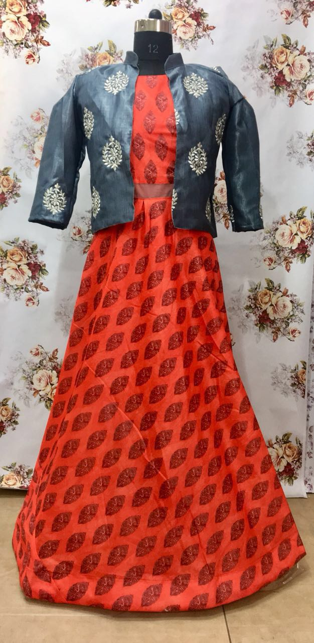 KT Designer Party Wear Gown KT 1013