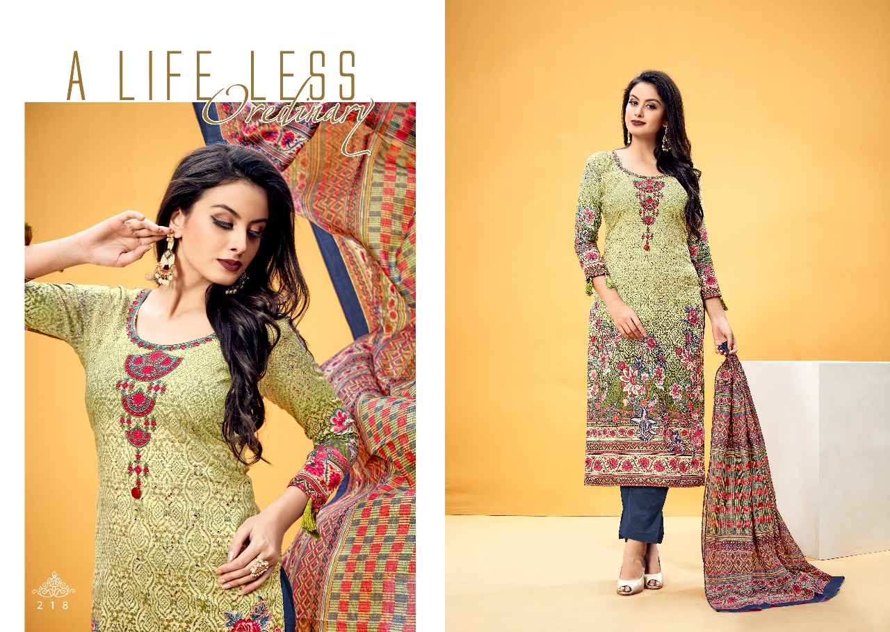 Levisha Elegance Printed Collection 218