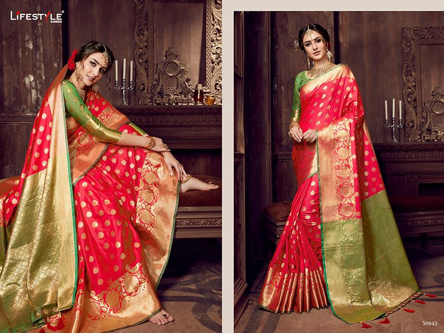 Life style Banarsi silk 50943