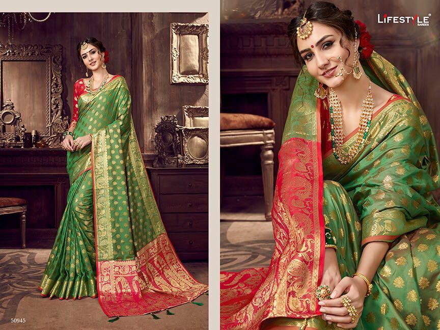 Life style Banarsi silk 50945