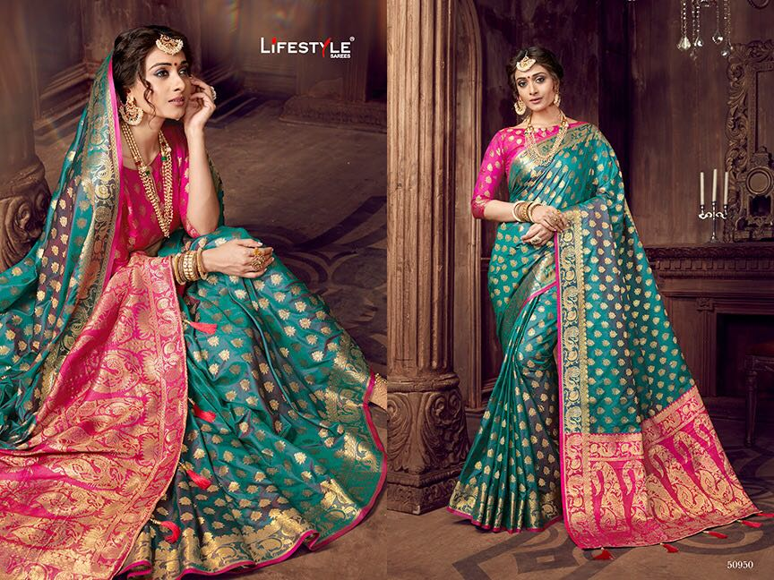 Life style Banarsi silk 50950