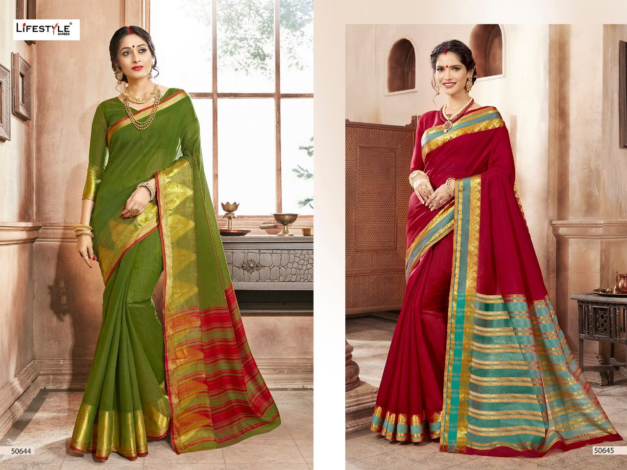 Lifestyle Khadi Silk 50644 50645