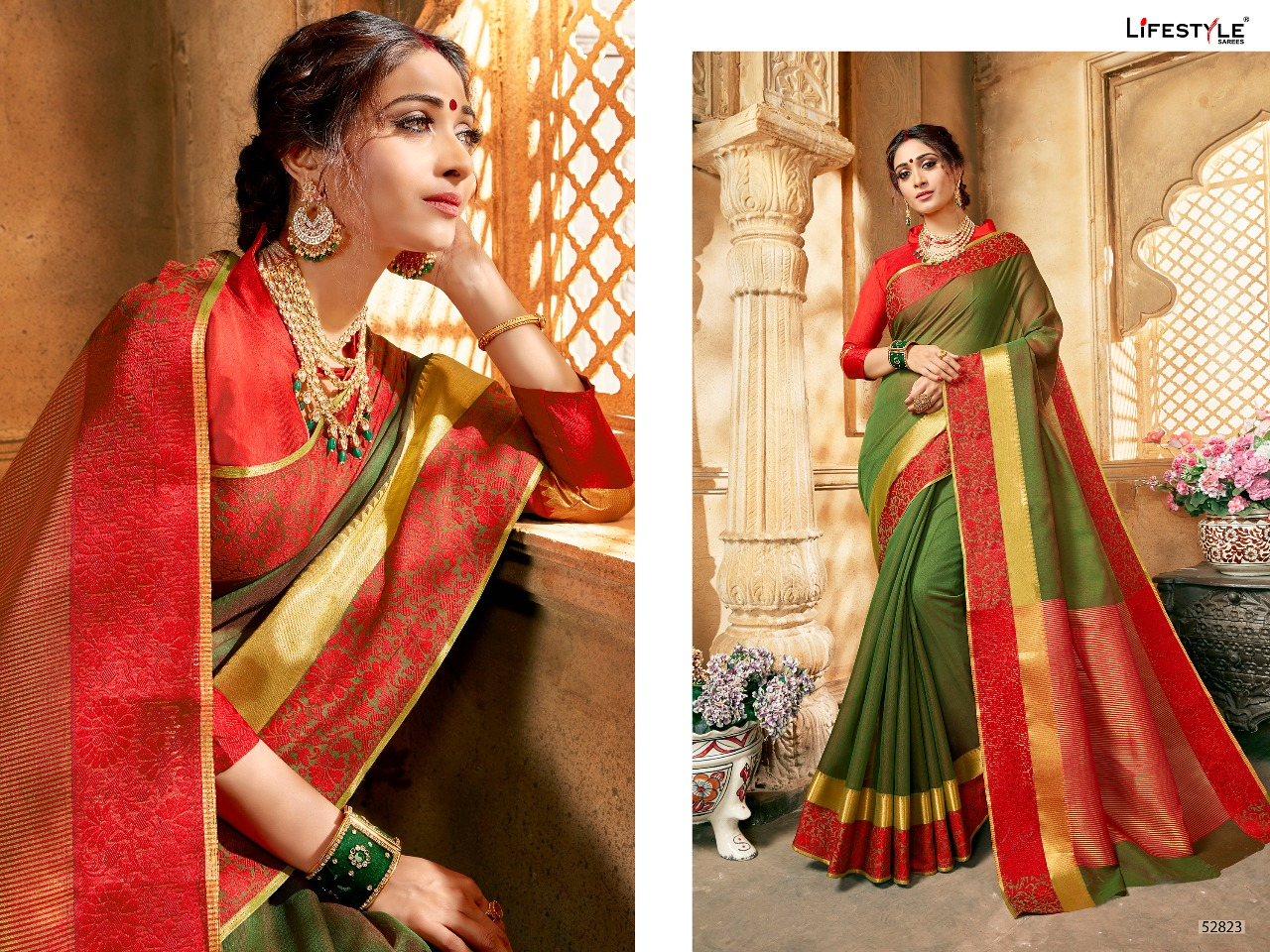 Lifestyle Khadi silk vol 16 52823
