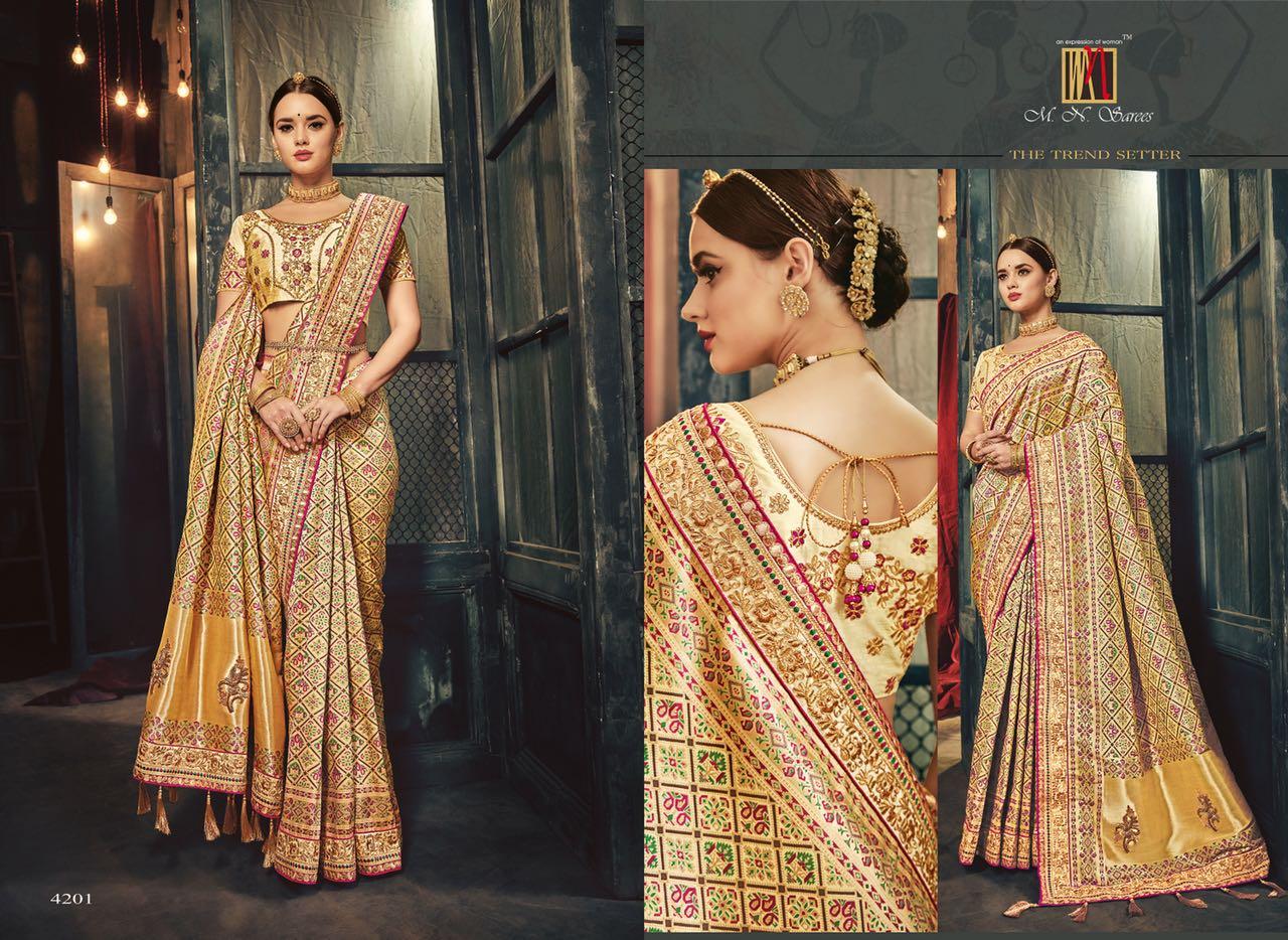 MN Sarees The Silk Heritage 4201