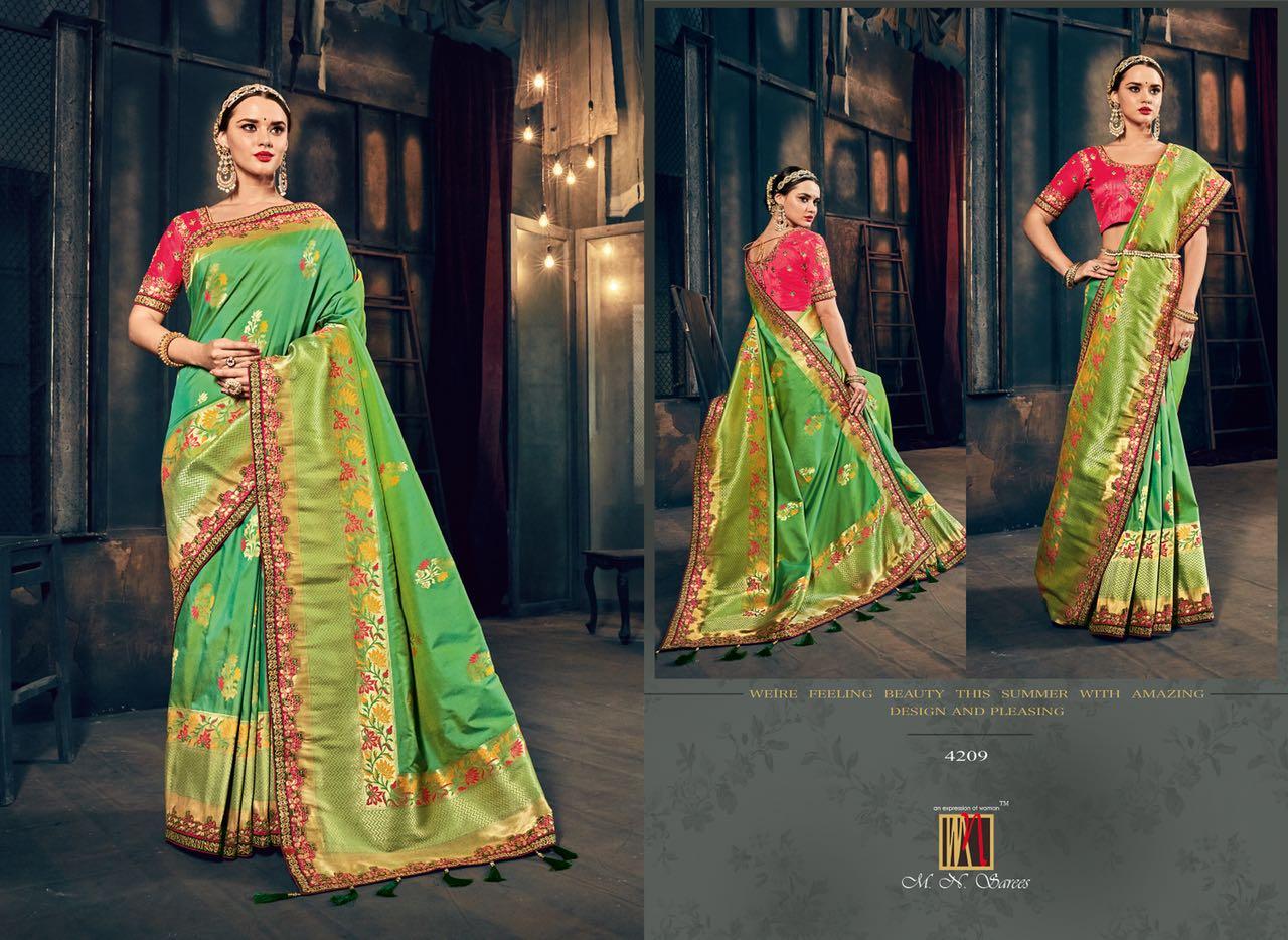 MN Sarees The Silk Heritage 4209