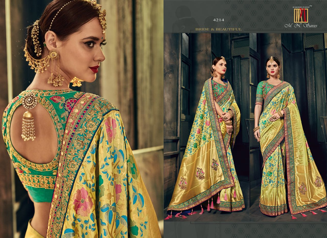 MN Sarees The Silk Heritage 4214