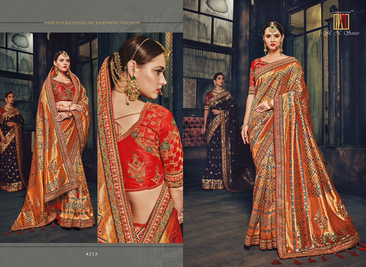 MN Sarees The Silk Heritage 4215