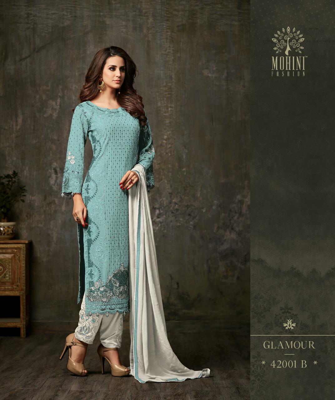 Mohini Fashion Glamour Vol 42 42001B BLUE