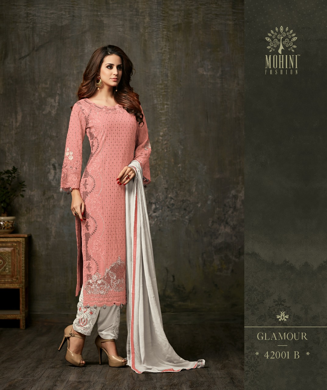Mohini Fashion Glamour Vol 42 42001B PINK