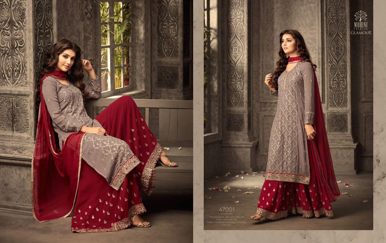 Mohini Fashion Glamour Sarara Collection 47001