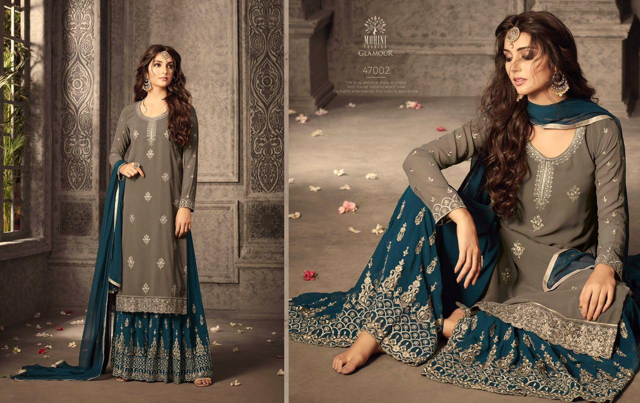 Mohini Fashion Glamour Sarara Collection 47002