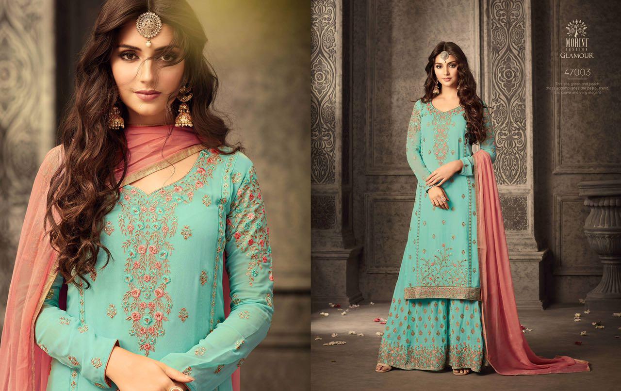 Mohini Fashion Glamour Sarara Collection 47003