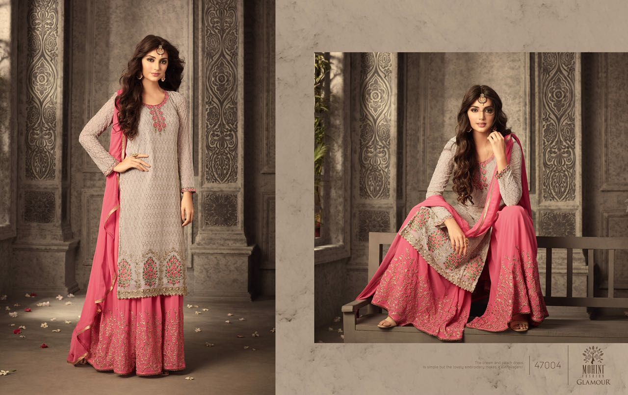 Mohini Fashion Glamour Sarara Collection 47004