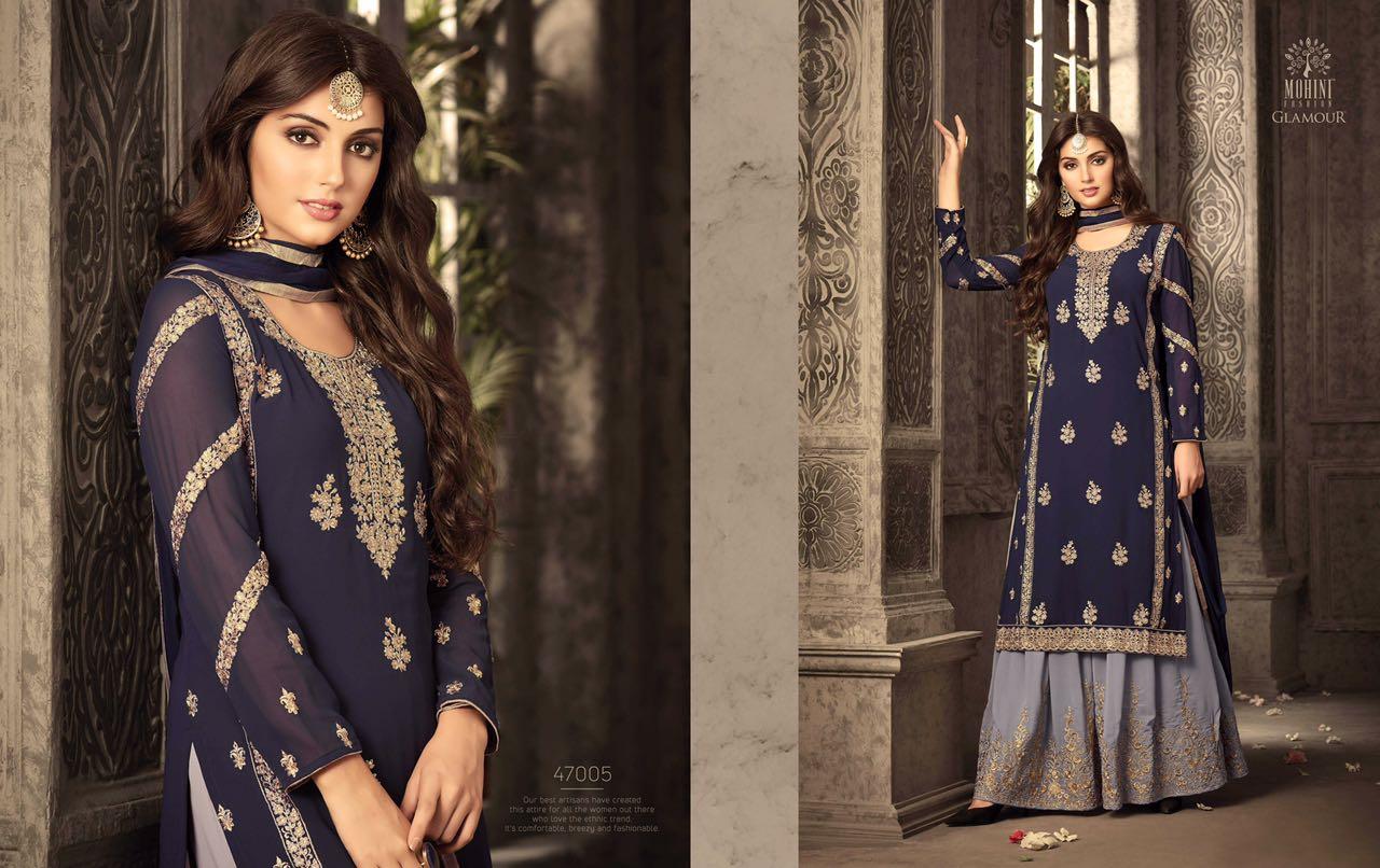 Mohini Fashion Glamour Sarara Collection 47005