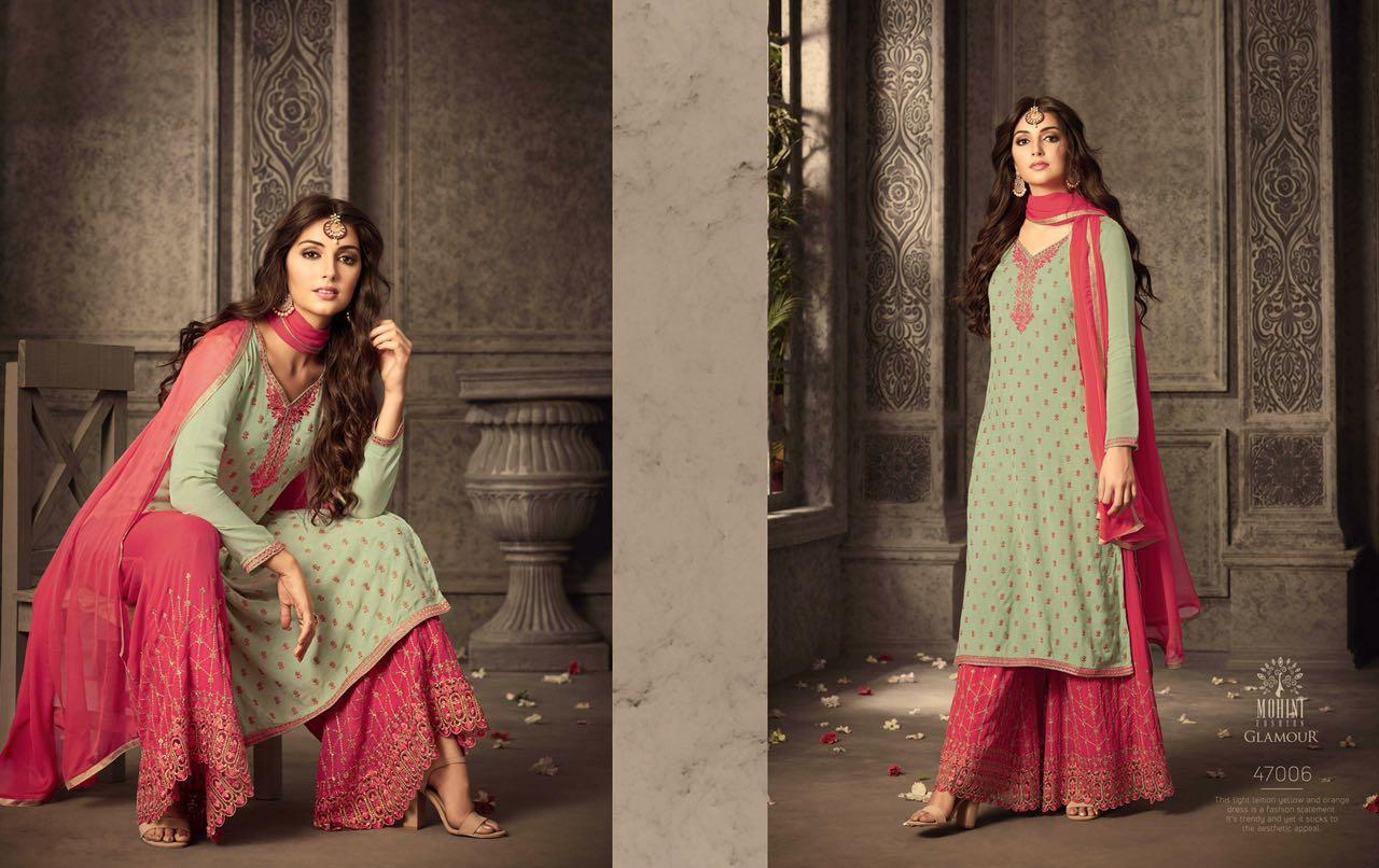 Mohini Fashion Glamour Sarara Collection 47006