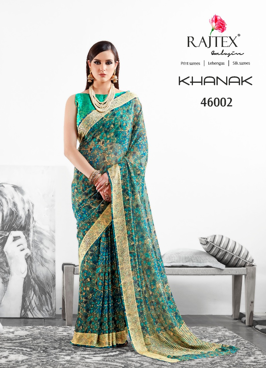 Rajtex Saree Khanak 46002