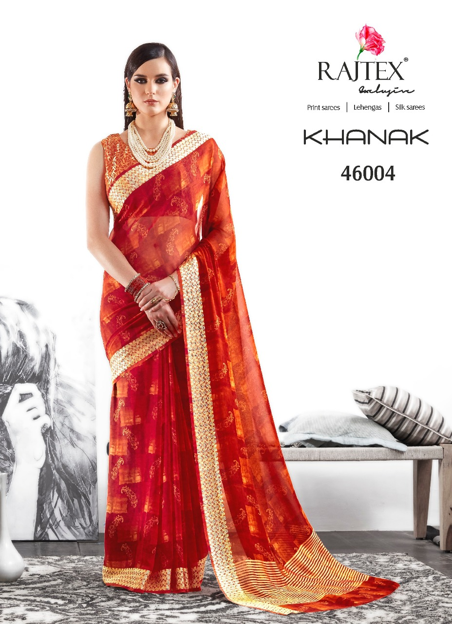Rajtex Saree Khanak 46004